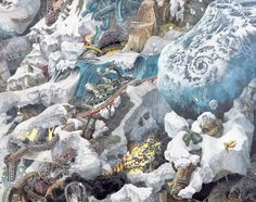 Are These Giant Chaotic Illustrations Predicting Natural Disasters? | The Creators Project
