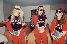 Wildfox Couture Off Duty Resort 2013-2014 Campaign  #retro #vintage