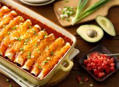 Old El Paso recipe for enchiladas.  Add rice about equal to the amount of meat, and beans about half the amount.  Cut the enchilada sauce's spiciness with plain tomato sauce.  Make sure you grease the pan, and cover with foil during baking to prevent hard edges on the tortillas (& dried out).  SO GOOD- we love this recipe. ~SH