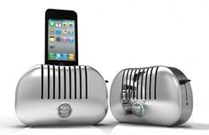 Gavio Chrome Toast iPhone dock