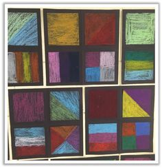 2nd Grade Masterpieces: Art with Fractions | Adventures in Guided Math