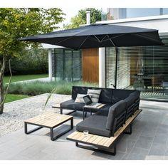 Outdoor Sofa, Outdoor Furniture Sofa, Living Furniture, Garden Furniture, Outdoor Decor, Pallet Home Decor, Diy Platform Bed, Garden Seating, Pergola Designs