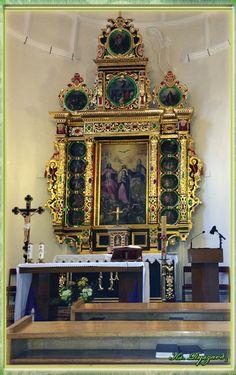 Kaplica w domu rekolekcyjnym na podwalu w Lublinie.