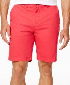 """Tommy Hilfiger Men's Shorts, 9"""" Inseam - Pink 38W"""