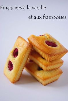 French Desserts, Mini Desserts, Dessert Recipes, Biscuits Packaging, Cake Packaging, French Bakery, French Pastries, Financier Recipe, Funny Cake