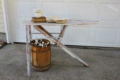 Shabby Vintage Ironing Board