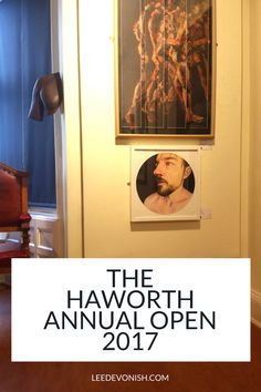 A look at two of my pieces of artwork exhibited at the Haworth Annual Open 2017, at the Haworth Gallery in Accrington, Lancashire.
