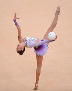 Carolina Rodriguez, Spain; Rhythmic Gymnastics