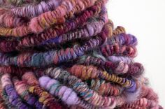 Supercoil handspun yarn.  This involves spinning skills I can only dream of.