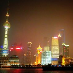 Typical tourists' view of Shanghai