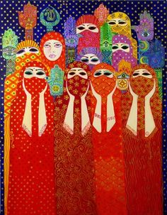 Through Her Own Eyes -Exhibit of Muslim women artists- The Daily Beast