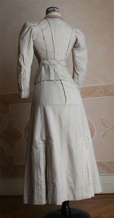 Sport or biking suit, ca 1907, Abiti Antichi (photo 2)