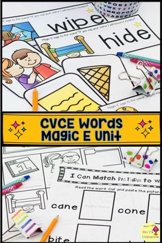 BOOM CVC or CVCE digital task cards