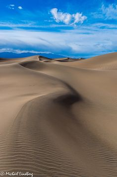 Great Curves by Michael Lindberg (Death Valley, California)