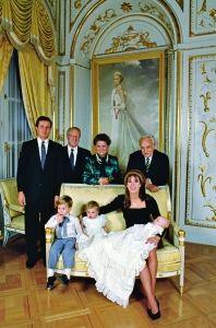 Pierre's Christening, December 1987