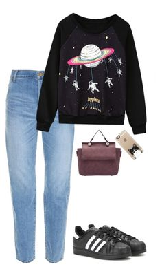 """Sin título #601"" by mary-nava ❤ liked on Polyvore featuring Muveil, adidas and Casetify"