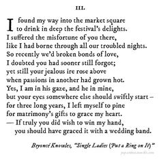 This would be awesome to turn into a mini lesson! - If Shakespeare Wrote Pop Songs: Single Ladies (Put a Ring on It)