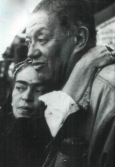 frida kahlo y diego rivera 1954