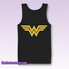 Wonder Woman Superhero Custom Tank Top All Size from Flori