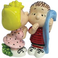Sally and Pigpen Salt and Pepper shakers