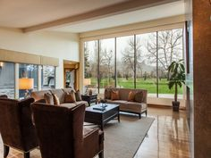 Entrance to great room with view of backyard and gold course, 1305 Old Tale Road, Boulder