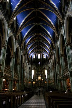 Photograph Notre Dame Cathedral in Ottawa by HenaTayebPhotography, $15.00