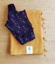 Cotton Saree Designs, Pattu Saree Blouse Designs, Simple Blouse Designs, Bridal Blouse Designs, Jute Sarees, Silk Sarees, Indian Dress Up, Saree Trends, Fancy Sarees