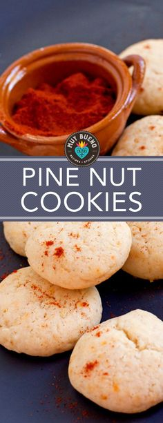 I like when a cookie has an unexpected flavor. And these pine nut cookies totally fit that bill. They are not too sweet which I love, they are nutty, and my favorite part is they have a little kick of spice. Toasted pine nuts and cream cheese lend these crumbly-chewy cookies rich flavor. Ground chile pepper adds a smoky note to each bite. Make these pine nut cookies for gift giving, and your friends and family will be very happy when they receive these homemade special treats for the…