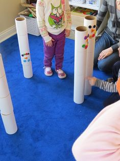 Building and playing with our free tube blocks and where you can find them too   Teach Preschool