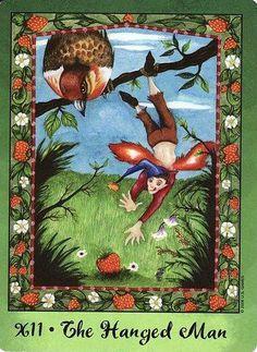 The Hanged Man - Faerie Tarot