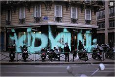 Kidaruto Paintings Damages Marc Jacobs Store