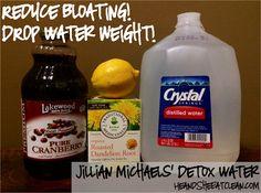 Jillian Michaels' Detox Water