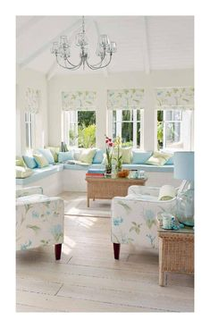 12 Ideas for Decorating with Soft Colors. 12 Ideas for Decorating with Soft Colors - Town & Country Living. living room decor farmhouse Check this useful article by going to the link at the image. Coastal Living Rooms, Home Living Room, Living Room Designs, Living Room Decor, Cottage Living, Coastal Cottage, Cottage Style, Ashley Home, Beach House Decor
