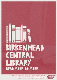 Library poster by Eleanor.Margaret, via Flickr