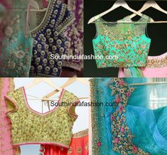 issa studio heavy maggam work blouse designs 600x559 photo