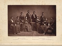 The Story of the Jubilee Singers - Fisk Jubilee Singers - Wikipedia African American Actors, Fred Rogers, Underground Railroad, Black Artists, Ancient Romans, Butterfly Wings, Mtv, Pin Up, Jackson
