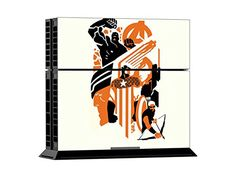 Mod Freakz Console and Controller Vinyl Skin Set - Fantastic IV Heroes for Playstation 4 Playstation Games, Video Game Console, Image Link, Florida, Clouds, Note, Amazon, Amazons, Riding Habit