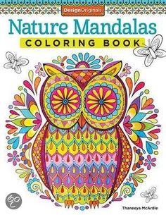 bol.com   Nature Mandalas Coloring Book, Thaneeya Mcardle   9781574219579   Boeken...