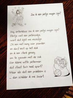 Versje Zwarte Piet Cool Kids, Crafts For Kids, December, School, Fun, Clock, Google, Tips, Beauty