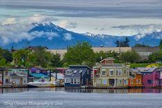 Fisherman's Wharf, Victoria, BC, Canada 2013, hier eindigden wij, na 3 weken, onze trip door Canada.