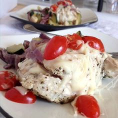 Mediterranean Mozza-Chicken weight wise