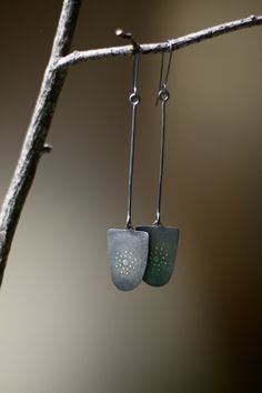 Sinking Stones Earrings by thenoisyplume on Etsy, $94.00