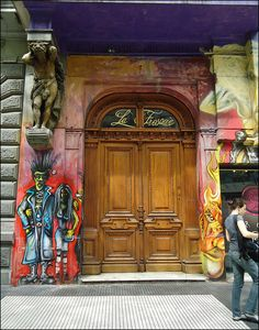 GRAFFiTTi/MURAL in Buenos Aires, Argentina by dirceu1507, via Flickr