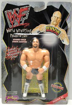(TAS033909) - 1999 Titan Sports WWF Wrestling Bend-Ems - Stone Cold Steve Austin