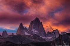 Mount Fitz Roy by Jean Pierre Orduña R. on 500px