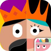 Thinkrolls: Kings & Queens :: iOS/Google Play/Kindle :: Kids use logic, physics, & memory to solve a series of 228 puzzles divided into 6 levels set around an epic adventure featuring kings, queens, a dragon & more. Kids maneuver their way through each puzzle by moving, positioning, and combining objects to solve the puzzle and find the key. The app features 2 difficulty levels. Puzzles can be repeated, avatars and players can be created/deleted & kids can switch between difficulty. :: Ages…