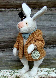 Следуй за белым Кроликом .. - белый кролик, алиса в зазеркалье