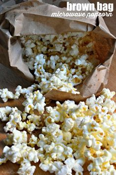 brown bag microwave popcorn from @somethingswanky's new cookbook published by @hmhbooks