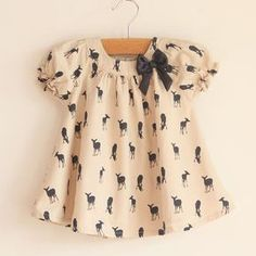 Oh dear, this deer shirt is way too precious! Hereford Hereford Cahoon Tap the link now to find the hottest products for your baby! Little Girl Fashion, Kids Fashion, Fashion Outfits, Fashion Trends, Baby Outfits, Kids Outfits, Deer Shirt, Girls Blouse, Oh Deer