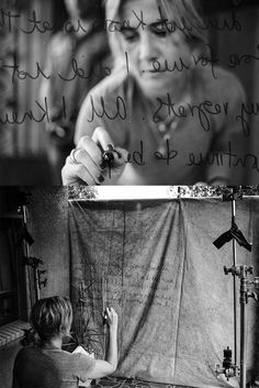 Photographer: Gary Van Wyk Through The Looking Glass, Famous Quotes, Behind The Scenes, Van, Words, Movie Posters, Famous Qoutes, Film Poster, Vans